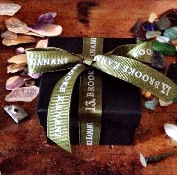 Moss Green Custom Print Grosgrain Ribbon