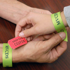 Personalize Ribbon Event Wristbands