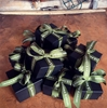 Moss Green Custom Grosgrain Ribbon
