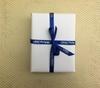Royal Blue Satin Custom Ribbons